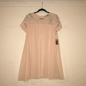 Forever 21 Baby Pink Jewel Dress
